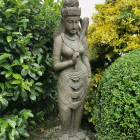 Dewi Sri Statue Lavastein