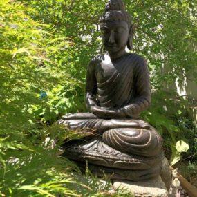 Buddhafigur Dachterrasse