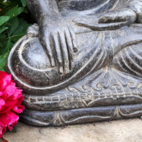 Buddhafigur Detail