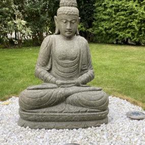 Buddha Garten Lavastein