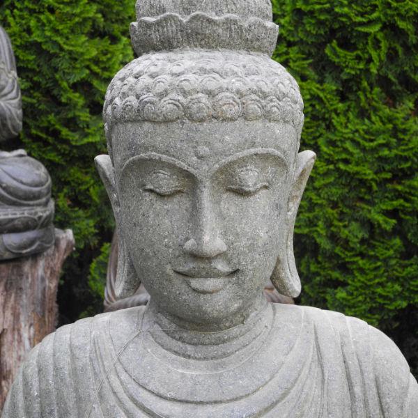 Grosse Buddhafigur Erdberührung