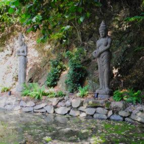 Dewi Figuren Stein Garten