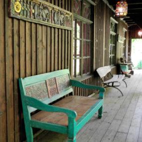 Bali Holzbank