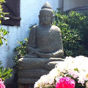 Buddhafigur sitzend Meditation