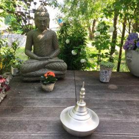 Buddhafigur Lavastein