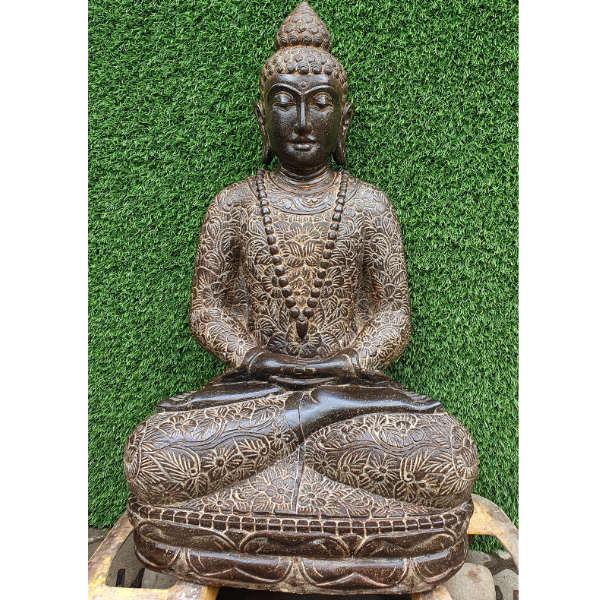 Neue Bali Lieferung September 2020 Buddha Figur mit Blumenkleid
