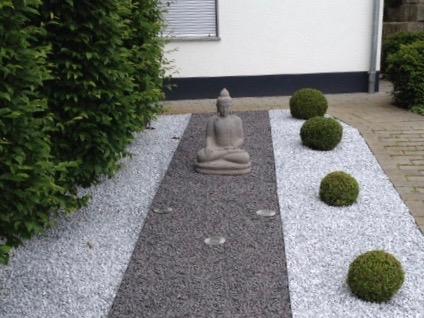 Buddhafigur Vorgarten
