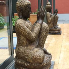 Buddhafigur Paar träumend