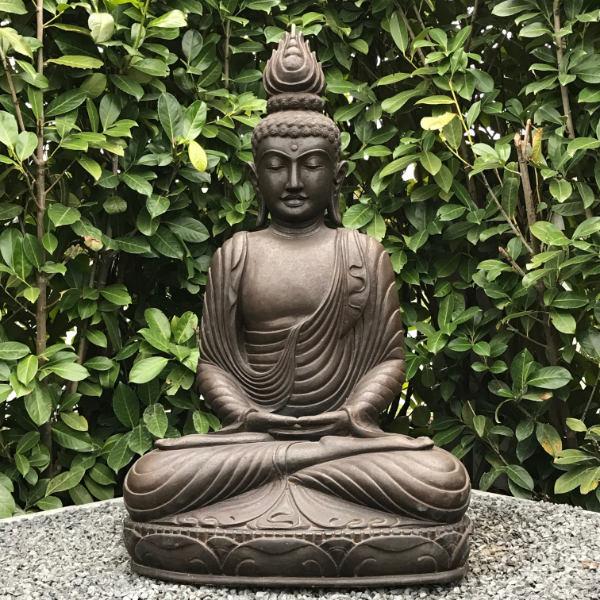 Buddhafigur sitzend