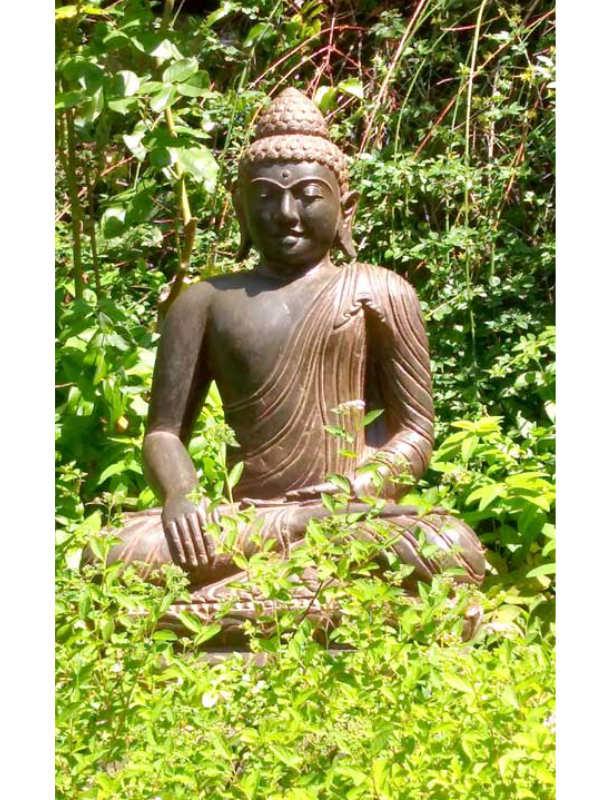 Buddhafigur Naturgarten