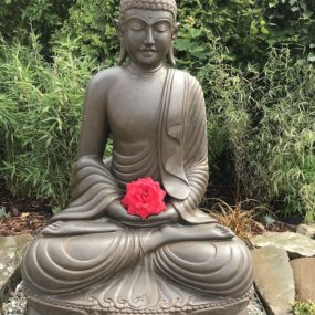 Buddhafigur Yoga Park