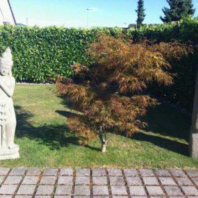 Steinstatuen asiatisch