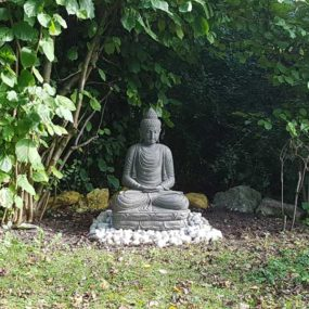 Buddha Statue Garten