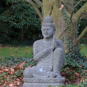 Buddha Figur Lavastein