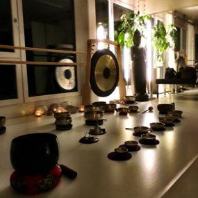 Buddhafigur Yoga Studio
