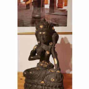 Dewi Sri mit Blattgold