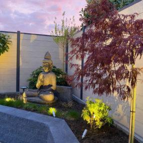 Buddhafigur Garten
