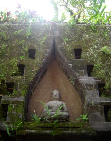 Buddha Nische Bali Garten