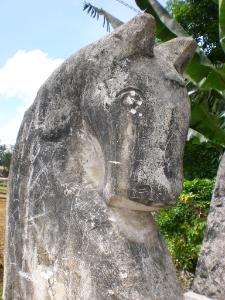 Sumba-Pferd-Statue