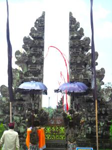 Bali-Tempeltor