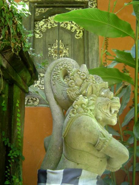 Bali Garten Wächter Figur