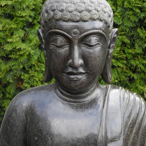 Buddhafigur Gesicht