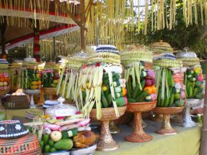 Bali-Opfergaben