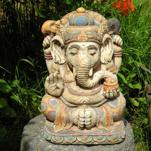 Ganesha Figur bunt